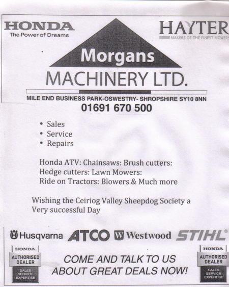 Morgans Machinery